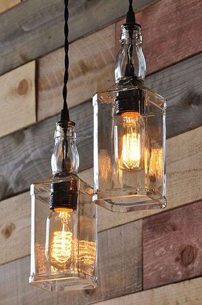 Chẳng thể ngờ những chiếc đèn đẹp lung linh này lại được làm từ chai thủy tinh tái chế - Ảnh 8.