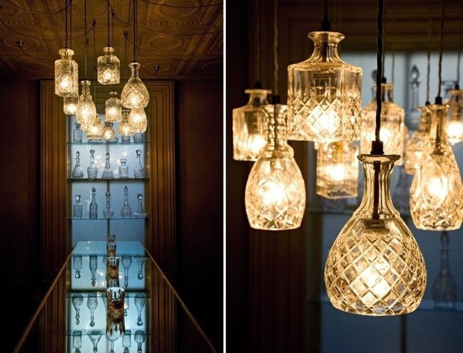Chẳng thể ngờ những chiếc đèn đẹp lung linh này lại được làm từ chai thủy tinh tái chế - Ảnh 9.