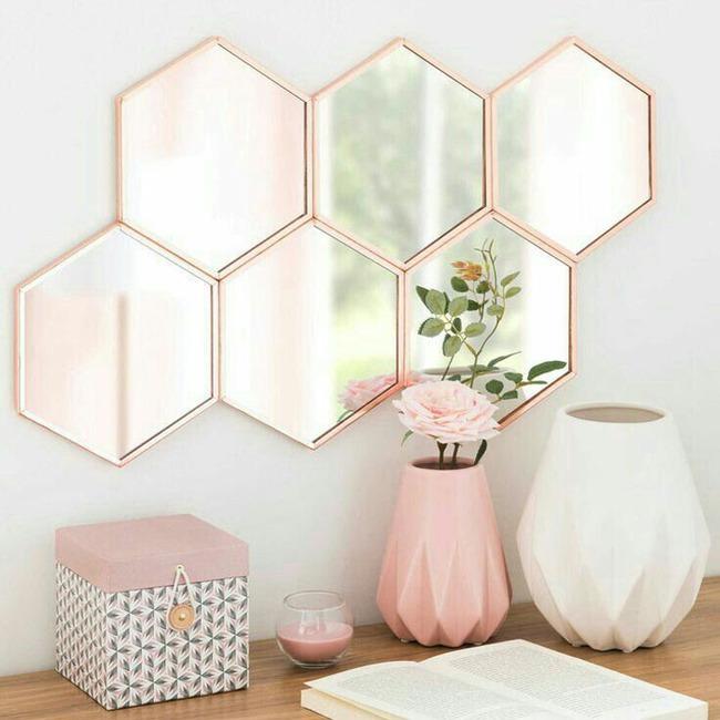 Vẻ đẹp đầy lôi cuốn trong thiết kế nội thất của cặp đôi màu sắc đồng và hồng - Ảnh 11.