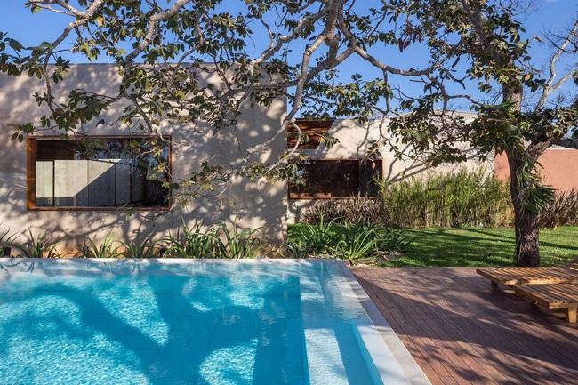 Ngôi nhà đặc biệt khi thiết kế thảm thực vật dày đặc bao quanh và nội thất độc đáo theo phong cách retro - Ảnh 2.