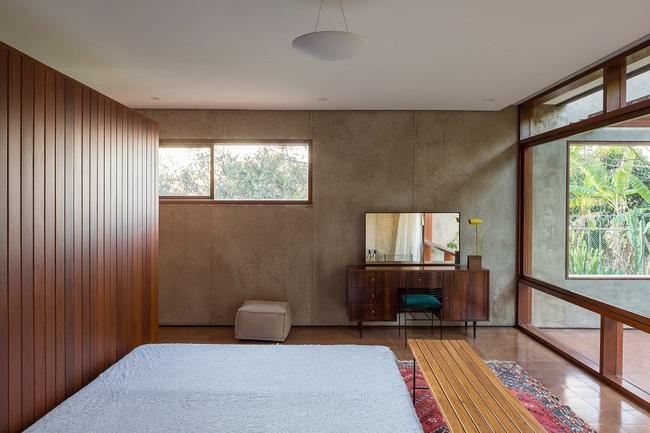 Ngôi nhà đặc biệt khi thiết kế thảm thực vật dày đặc bao quanh và nội thất độc đáo theo phong cách retro - Ảnh 11.