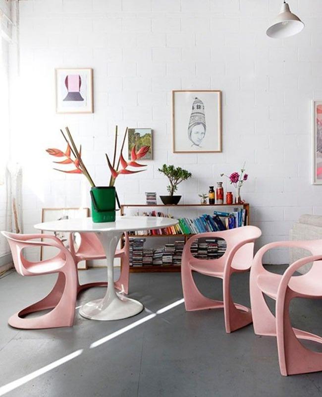 Những bộ bàn ghế ăn khiến bạn dù đi đâu cũng chỉ mong được về nhà dùng bữa - Ảnh 3.