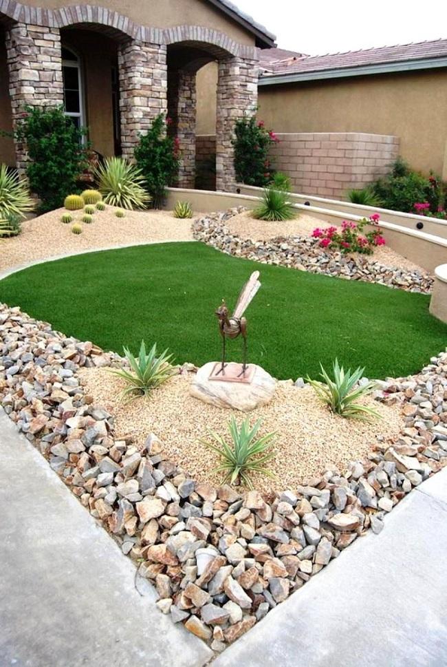 Sân vườn nhỏ không thành vấn đề, vẫn có thể xinh lung linh như thế này nhé - Ảnh 10.