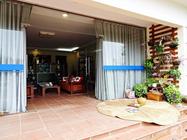 Bỏ việc quản lý và căn nhà ở nội thành Hà Nội, vợ chồng ra ngoại thành xây nhà vườn đẹp như cổ tích - Ảnh 3.