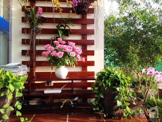 Bỏ việc quản lý và căn nhà ở nội thành Hà Nội, vợ chồng ra ngoại thành xây nhà vườn đẹp như cổ tích - Ảnh 5.