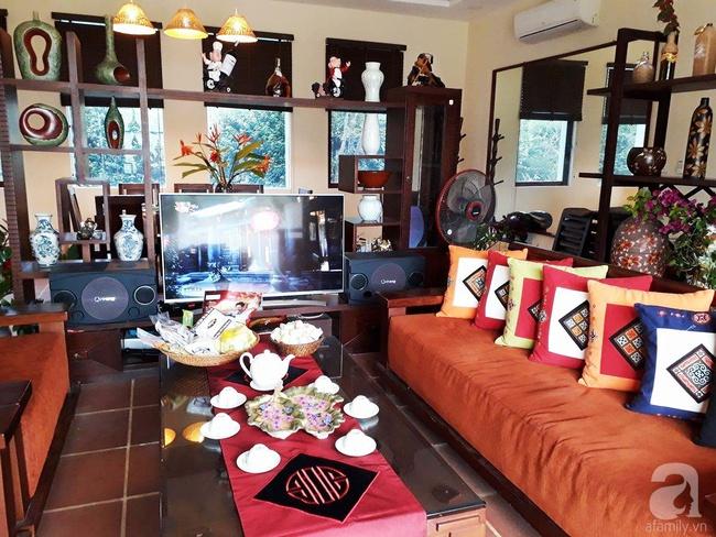 Bỏ việc quản lý và căn nhà ở nội thành Hà Nội, vợ chồng ra ngoại thành xây nhà vườn đẹp như cổ tích - Ảnh 7.