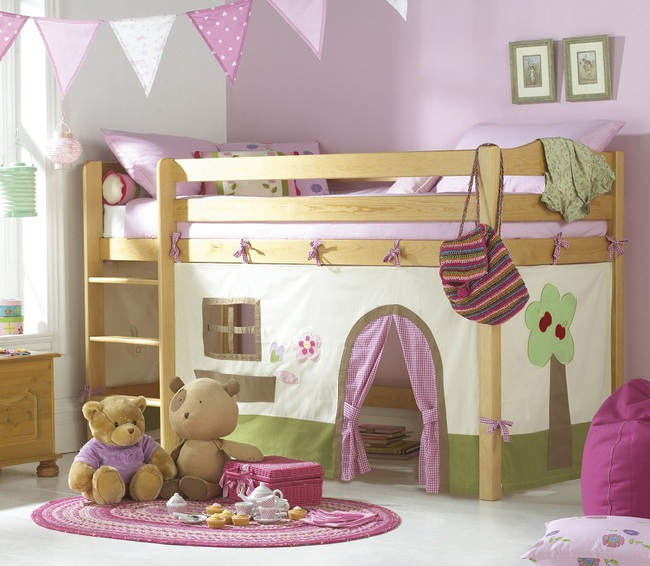 3 cách thiết kế và 15 mẫu phòng ngủ bé gái đẹp như cổ tích  - Ảnh 4.