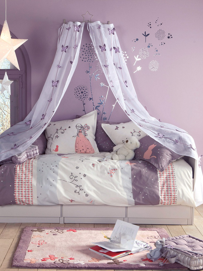3 cách thiết kế và 15 mẫu phòng ngủ bé gái đẹp như cổ tích  - Ảnh 5.