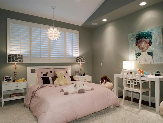 3 cách thiết kế và 15 mẫu phòng ngủ bé gái đẹp như cổ tích  - Ảnh 6.