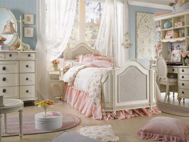 3 cách thiết kế và 15 mẫu phòng ngủ bé gái đẹp như cổ tích  - Ảnh 8.