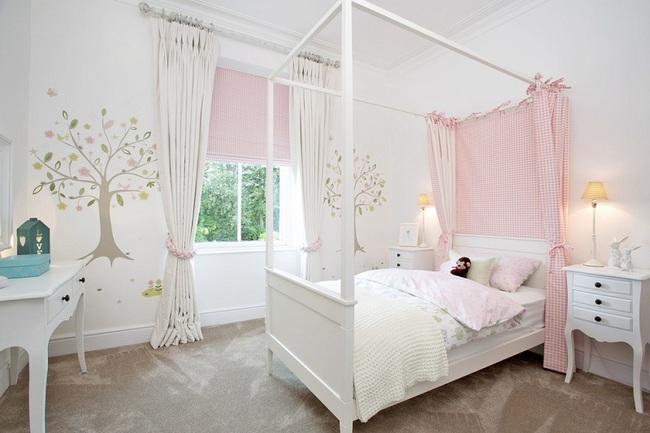 3 cách thiết kế và 15 mẫu phòng ngủ bé gái đẹp như cổ tích  - Ảnh 9.