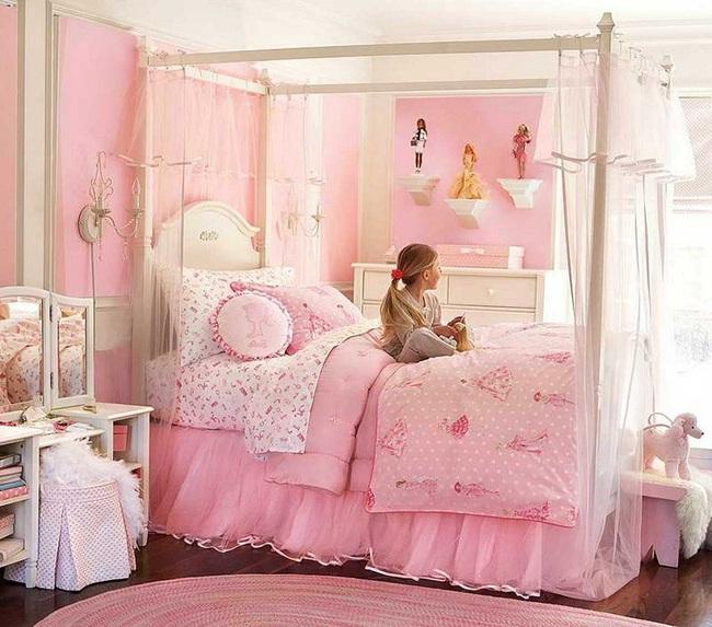 3 cách thiết kế và 15 mẫu phòng ngủ bé gái đẹp như cổ tích  - Ảnh 11.