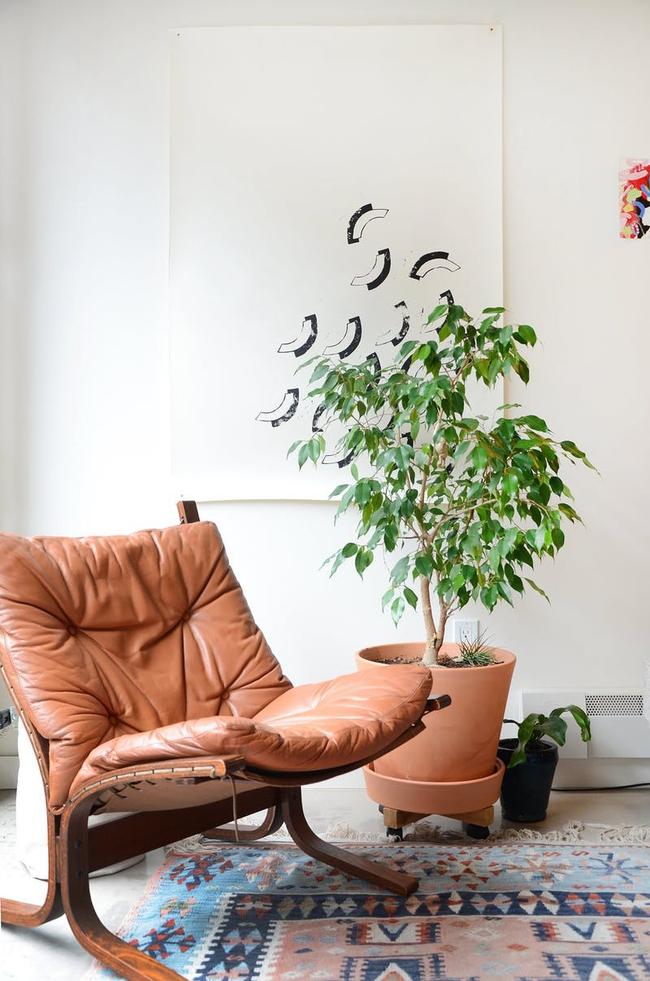 Ngôi nhà được trang trí bằng đồ cũ và đồ tái chế của hai người phụ nữ làm xôn xao cả giới thiết kế - Ảnh 4.