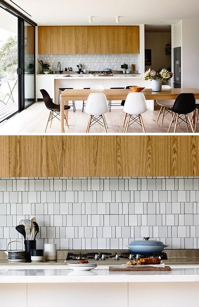 9 mẫu gạch ốp nhà bếp theo phong cách hình học cho chị em tùy ý lựa chọn - Ảnh 1.