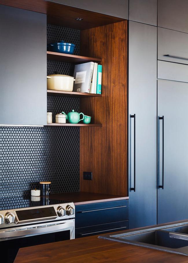 9 mẫu gạch ốp nhà bếp theo phong cách hình học cho chị em tùy ý lựa chọn - Ảnh 6.