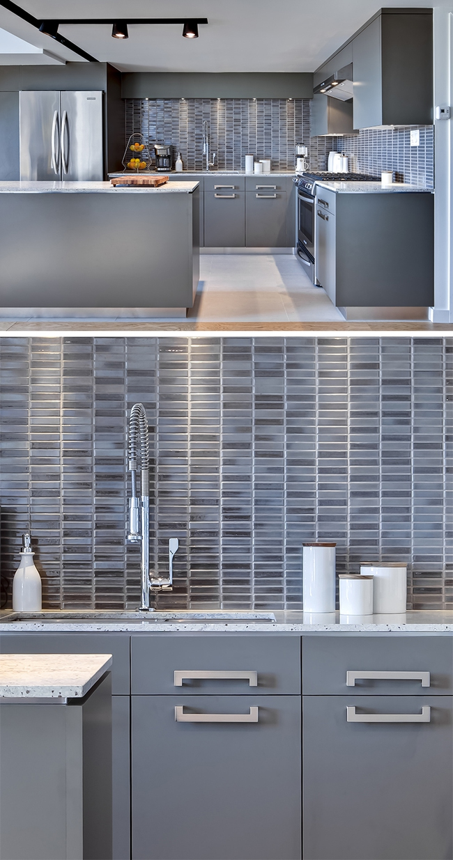 9 mẫu gạch ốp nhà bếp theo phong cách hình học cho chị em tùy ý lựa chọn - Ảnh 8.