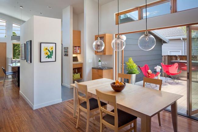 Mách bạn cách chọn đèn trang trí cho phòng ăn gia đình thêm xinh - Ảnh 8.