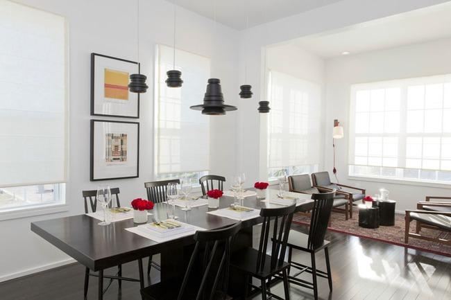 Mách bạn cách chọn đèn trang trí cho phòng ăn gia đình thêm xinh - Ảnh 13.