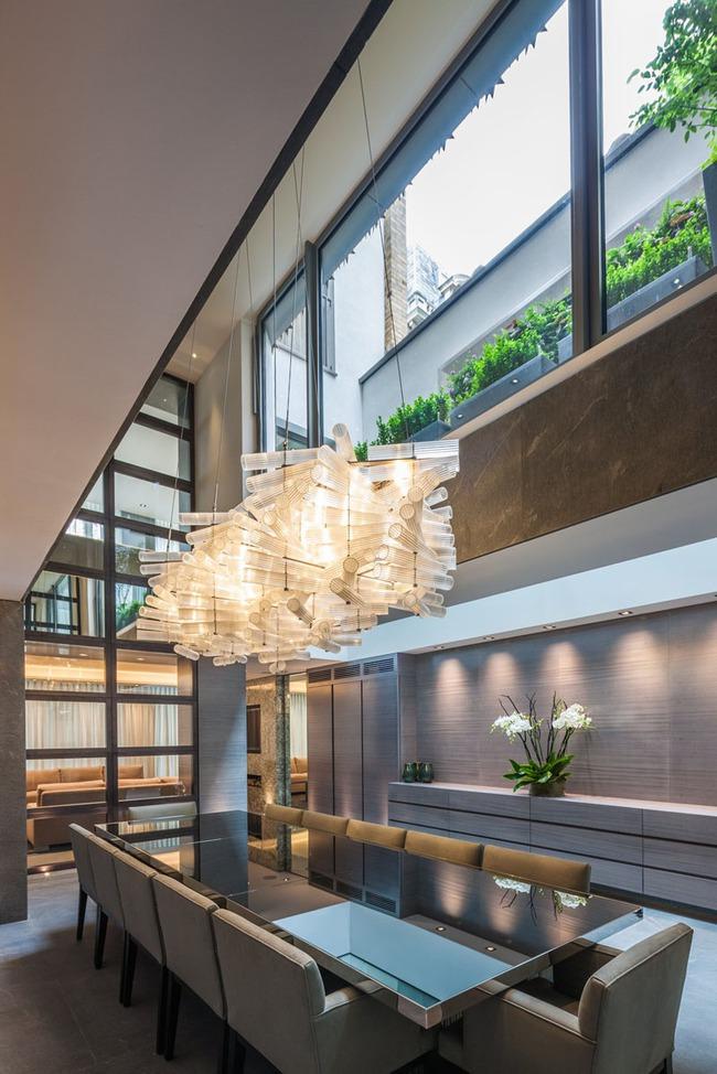 Mách bạn cách chọn đèn trang trí cho phòng ăn gia đình thêm xinh - Ảnh 18.