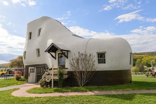 10 thiết kế siêu lạ khiến bạn phải thay đổi ngay định nghĩa về ngôi nhà - Ảnh 12.
