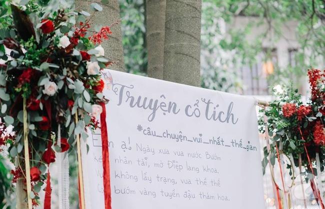 Cặp đôi Hà Thành trang trí tiệc cưới sân vườn với sắc đỏ đẹp như một giấc mơ về hạnh phúc - Ảnh 6.