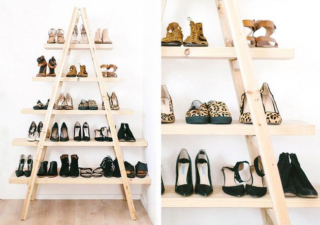 10 ý tưởng lưu trữ giày dành riêng cho hội mê giày tham khảo - Ảnh 2.