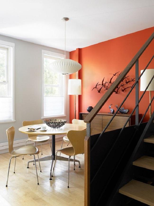 Trang trí phòng ăn với tông màu cam rực rỡ chính là xu hướng của mùa hè năm nay - Ảnh 5.