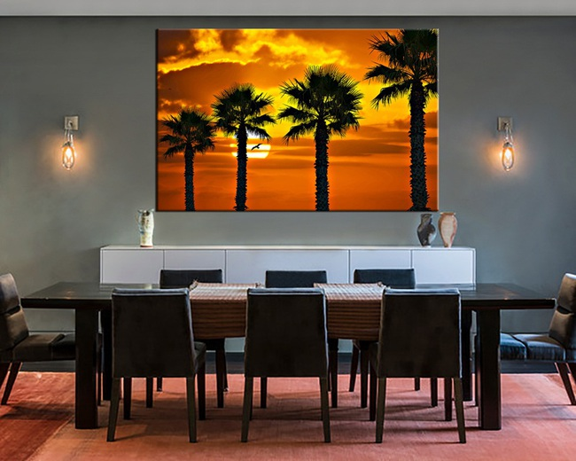 Trang trí phòng ăn với tông màu cam rực rỡ chính là xu hướng của mùa hè năm nay - Ảnh 6.