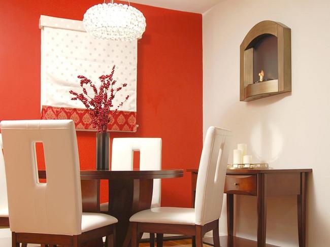 Trang trí phòng ăn với tông màu cam rực rỡ chính là xu hướng của mùa hè năm nay - Ảnh 9.