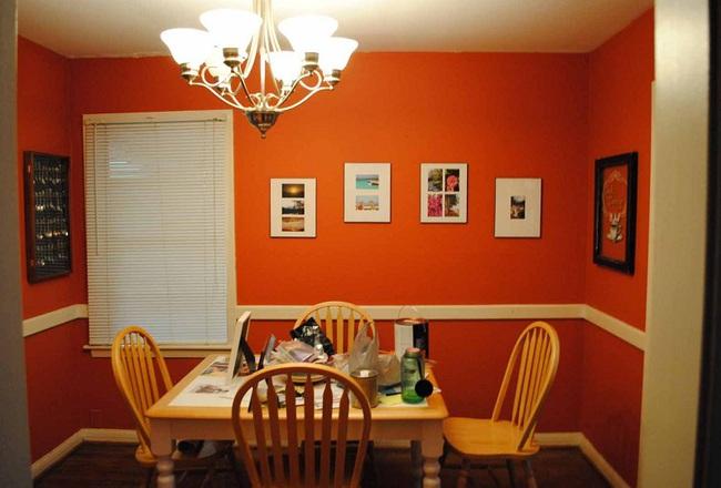 Trang trí phòng ăn với tông màu cam rực rỡ chính là xu hướng của mùa hè năm nay - Ảnh 10.