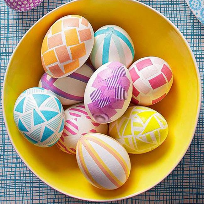 15 cách biến những quả trứng đơn điệu thành món đồ trang trí nhà đầy màu sắc - Ảnh 3.