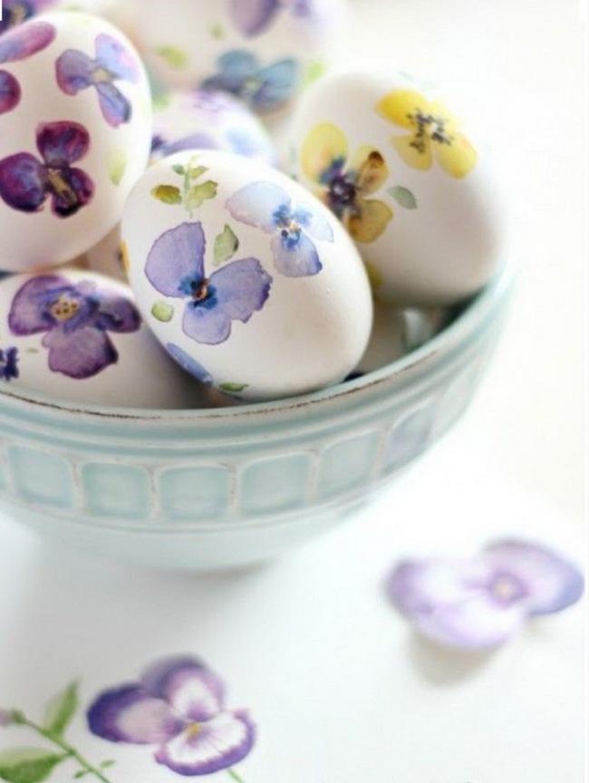 15 cách biến những quả trứng đơn điệu thành món đồ trang trí nhà đầy màu sắc - Ảnh 4.
