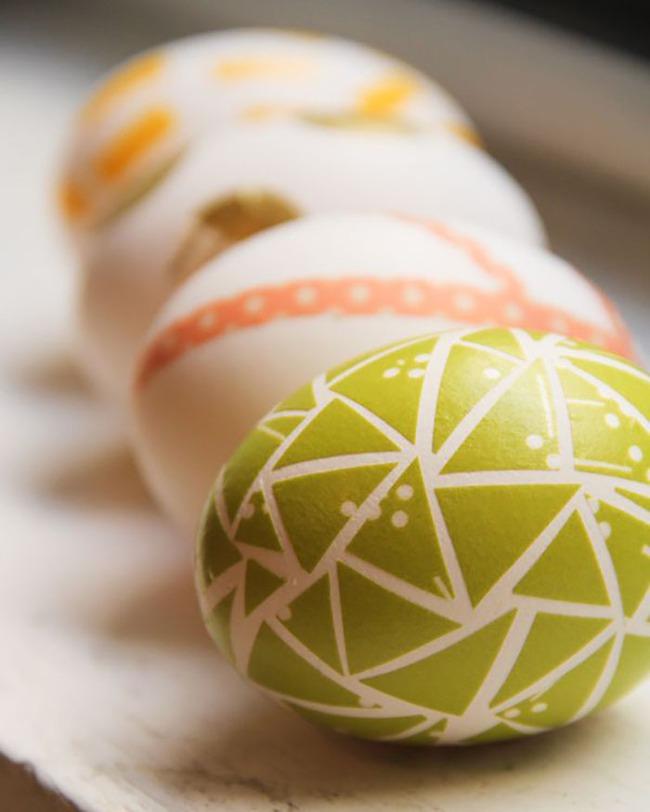 15 cách biến những quả trứng đơn điệu thành món đồ trang trí nhà đầy màu sắc - Ảnh 5.