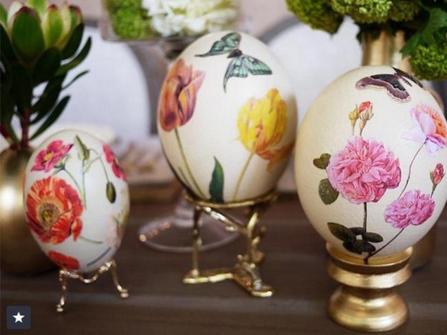 15 cách biến những quả trứng đơn điệu thành món đồ trang trí nhà đầy màu sắc - Ảnh 7.
