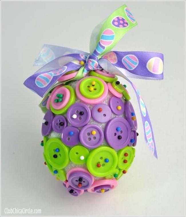 15 cách biến những quả trứng đơn điệu thành món đồ trang trí nhà đầy màu sắc - Ảnh 9.