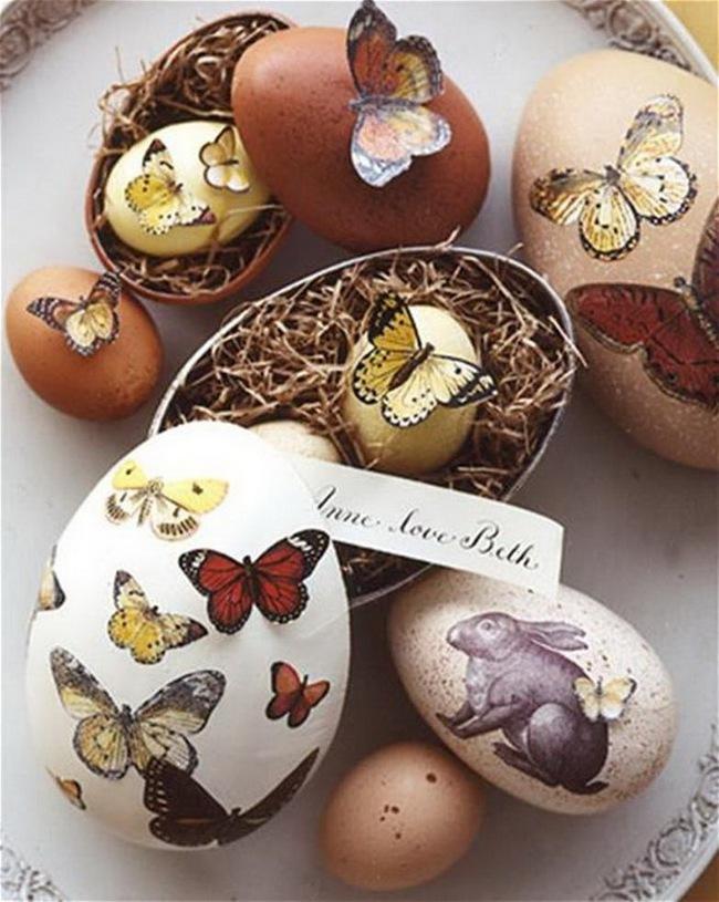 15 cách biến những quả trứng đơn điệu thành món đồ trang trí nhà đầy màu sắc - Ảnh 10.