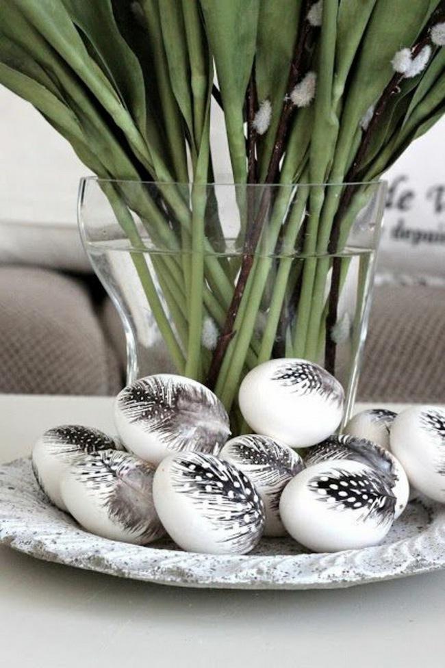 15 cách biến những quả trứng đơn điệu thành món đồ trang trí nhà đầy màu sắc - Ảnh 11.