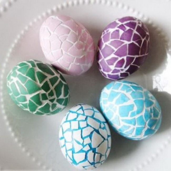 15 cách biến những quả trứng đơn điệu thành món đồ trang trí nhà đầy màu sắc - Ảnh 15.
