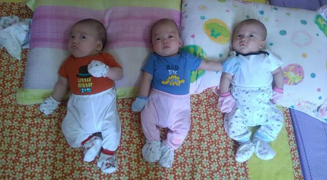 Bà mẹ 9X hồi hộp kể lại những nỗi sợ trong ca sinh ba cùng trứng cực hiếm gặp - Ảnh 8.