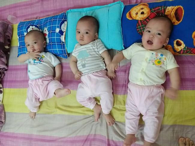 Bà mẹ 9X hồi hộp kể lại những nỗi sợ trong ca sinh ba cùng trứng cực hiếm gặp - Ảnh 16.
