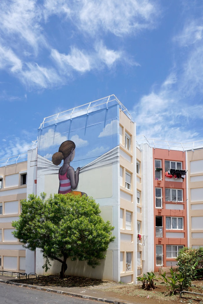 Nghệ thuật đường phố siêu sáng tạo nhờ kết hợp với thiên nhiên xung quanh - Ảnh 7.