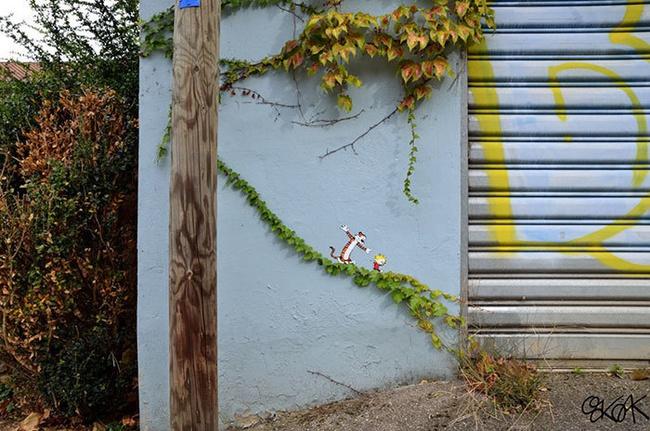 Nghệ thuật đường phố siêu sáng tạo nhờ kết hợp với thiên nhiên xung quanh - Ảnh 17.