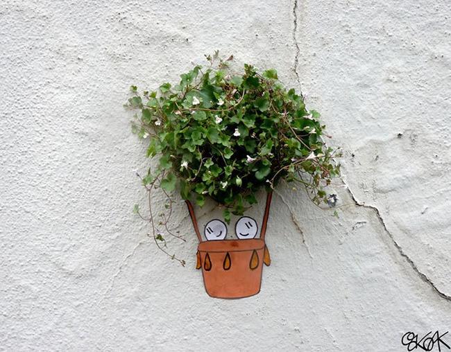 Nghệ thuật đường phố siêu sáng tạo nhờ kết hợp với thiên nhiên xung quanh - Ảnh 20.