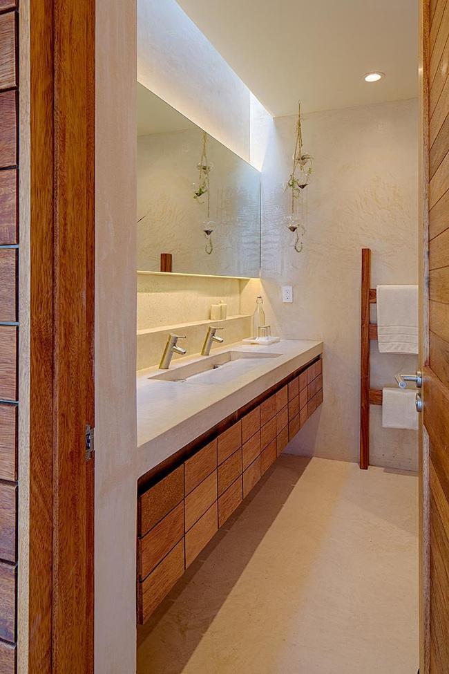 Mách bạn tuyệt chiêu trang trí cho nhà tắm vừa đẹp vừa deep - Ảnh 8.