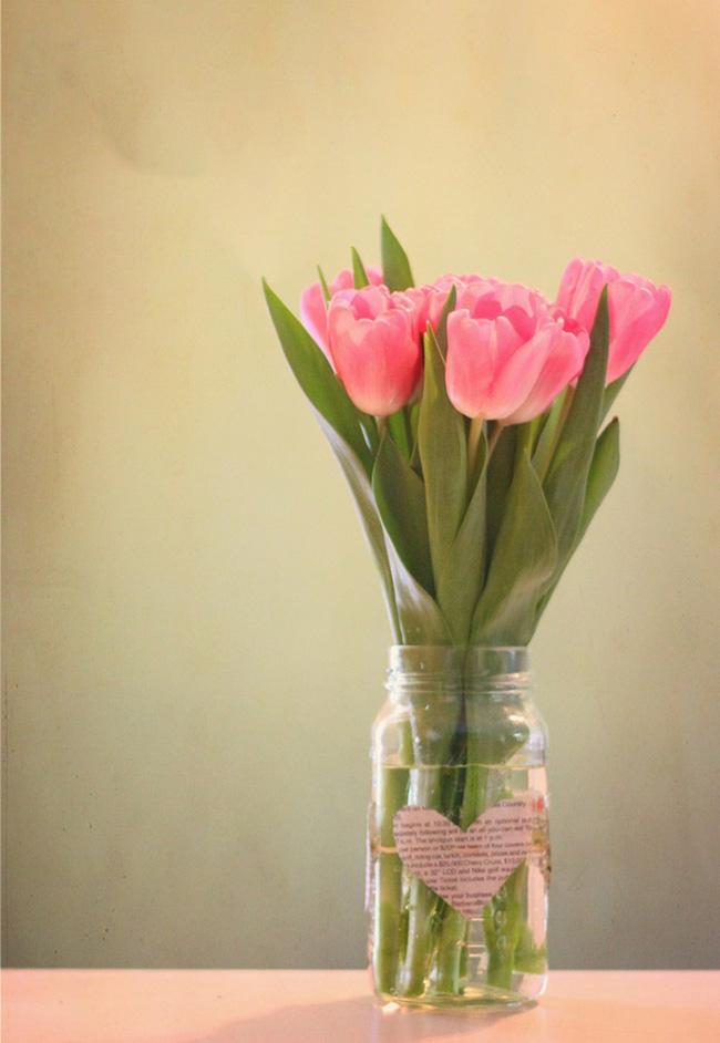 Cắm hoa trang trí nhà xinh không tưởng bằng lọ thủy tinh mộc mạc - Ảnh 5.