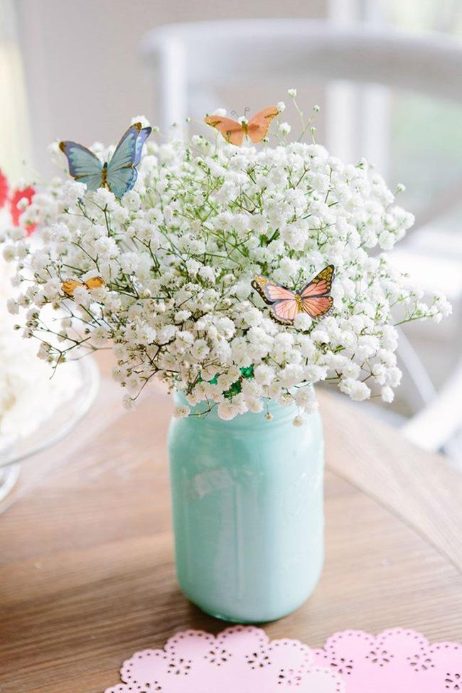 Cắm hoa trang trí nhà xinh không tưởng bằng lọ thủy tinh mộc mạc - Ảnh 10.