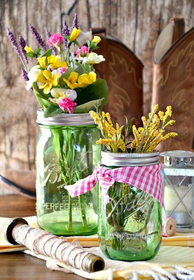 Cắm hoa trang trí nhà xinh không tưởng bằng lọ thủy tinh mộc mạc - Ảnh 13.