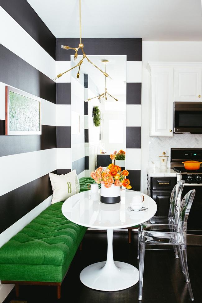 Bàn tròn - lời giải đúng dành cho các thiết kế phòng bếp có diện tích chật hẹp - Ảnh 2.