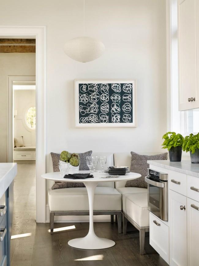 Bàn tròn - lời giải đúng dành cho các thiết kế phòng bếp có diện tích chật hẹp - Ảnh 11.