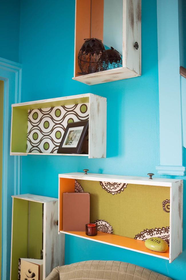 Hô biến ngăn kéo cũ thành những mảnh ghép trang trí nội thất siêu dễ thương - Ảnh 2.